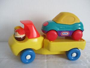 1 Camion Transporteur   D` Auto  Little  Tike