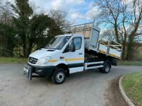 2013 Mercedes-Benz SPRINTER 516 CDI 4X4 Twin wheel tipper NA Diesel Manual