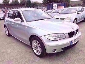 BMW 1 SERIES 2.0 118 i SE 6 SPEED 5 DOOR 2006 / FULL SERVICE HISTORY / 2 KEEPERS / HPI CLEAR