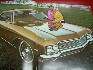 1970 Chevrolet sales brochure Peterborough Peterborough Area image 4