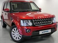 2015 Land Rover Discovery XS Commercial Sd V6 Auto Diesel red Automatic