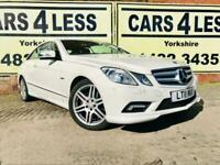 2011 MERCEDES E350 BLUEFFICIENCY SPORT AMG SPEC 69000 MILES STUNNING WHITE FSH