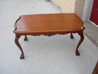 Gibbard Claw Foot Coffee Table