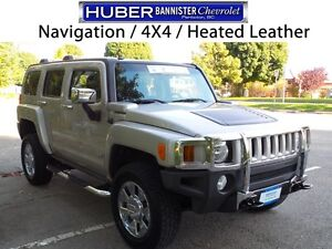 2007 Hummer H3 4X4/Leather/Sunroof