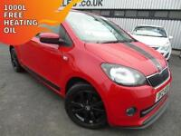 2013 Skoda Citigo 1.0 MPI Sport - Red - 12 MONTHS PLATINUM WARRANTY!