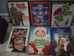 Christmas DVDs...