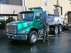 FOR HIRE? AC TRUCKING  < SERVICE IS OUR BUSINESS >