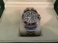 Rolex Sea Dweller Watch - needs servicing. Minute hand does not move.