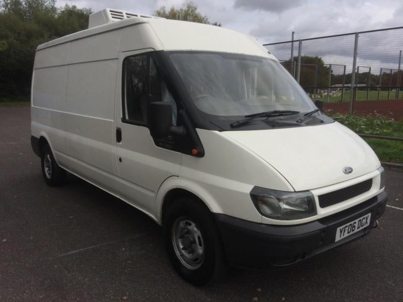 2006 Ford Transit 2.4TDI LWB FRIDGE VAN COMPLETE WITH M.O.T AND WARRANTY