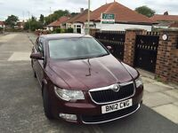 2012 Skoda superb 2ltr diesel 170bhp top of the range Laurin+Klement