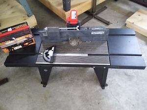 Router table and switch NEW