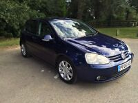 VOLKSWAGEN Golf 2006 2.0 TDI GT Sport low mileage !!