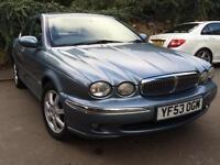 Jaguar X-TYPE 2.0D SE - VERY GOOD EXAMPLE WITH FULL LTHR