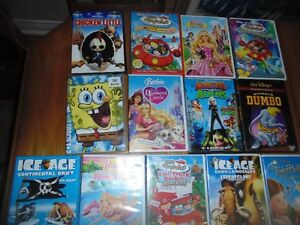 Many Children's DVD's - Walt Disney, Disney, Barbie etc.,