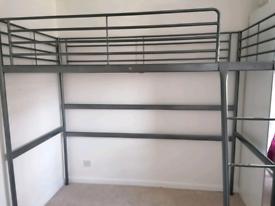 IKEA single loft bed