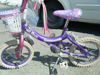2 girls bikes $10.00 each