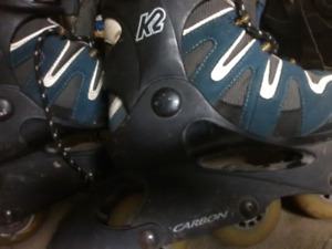 Size 7.5 woman's k2 Rollerblades
