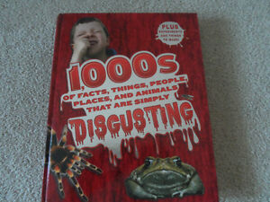 1000 FACTS THAT ARE DISGUSTING BOOK