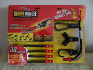 A 30-Piece Smart Bungee System