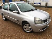 2005 '05' Renault Clio 1.2 16v Extreme Petrol. Manual. 3 Door First Car. Px Swap