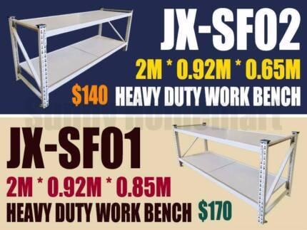 NEW Heavy Duty Steel Work Bench Garage Warehouse