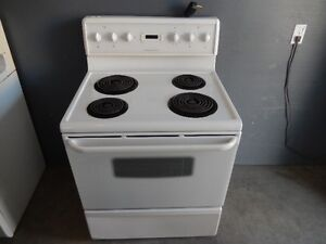 Frigidaire coil top stove works great $75 firm, can deliver.