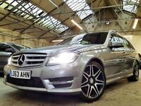 2013 Mercedes-Benz C Class 2.1 C220 CDI AMG Sport Plus 7G-Tronic Plus 5dr
