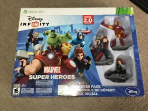 New , X Box one 2.0 Marvel super heroes