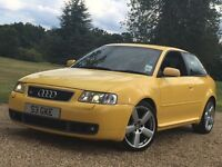 Stunning * Audi S3 Quattro IMOLA YELLOW With Black & Yellow