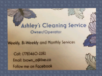 Your cleaning lady in Castlegar