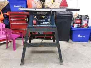 15 Amp table saw