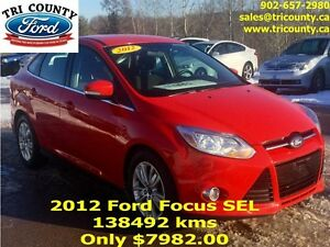 2012 Ford Focus SE 4D Sedan