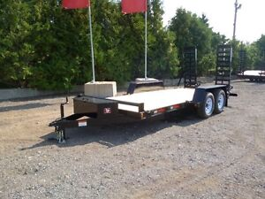 5 Ton Low Bed Float by Miska Trailers - Canadian M