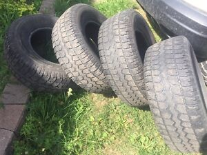Four 265/70 R16 Motomaster Total Terrain tires