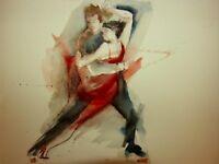 private Argentine tango lessons, beginner and intermediate
