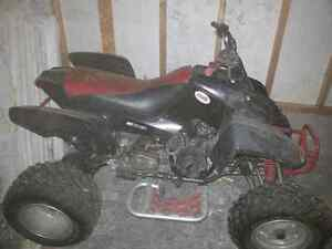 BLACK WIDOW ATV  4 wheeler