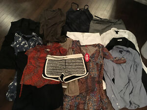 Brand name clothes/belts/purse/watch/leather coat