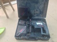 Bosh 24volt cordless hammer drill x2