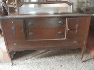 Antique 1920's Sideboard