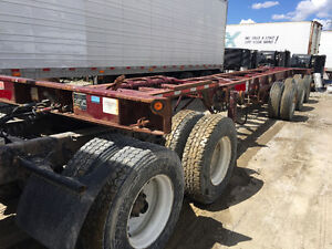 2006 Max Atlas 40'-53' Triple-Axle Extendable Chassis