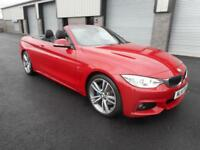 BMW 420 M SPORT DIESEL AUTO CONVERTIBLE SAT NAV LEATHER