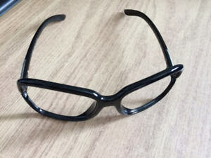 Unisex Black Fashion Glasses