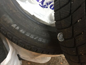 Michelin X-Ice 2 Snow tires 235/55 R17 Peterborough Peterborough Area image 4