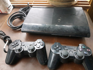 PS3 with 2 wireless controllers