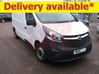 2015 Vauxhall Vivaro LWB 2900 CDTi 1.6 EX LEASE