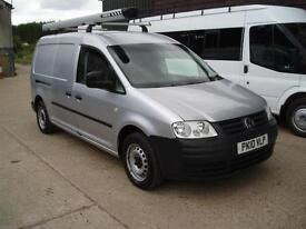 2010 LWB VOLKSWAGEN CADDY MAXI 1.9TDI 104PS DOUBLE SIDE DOORS NO VAT TO PAY