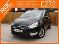 2014 Ford Galaxy 1.6 Zetec 6 Speed 7-Seater MPV Climate Control Parking Sensors