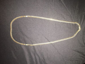 10k link chain and bracelet