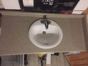 Countertop for bathroom vanity