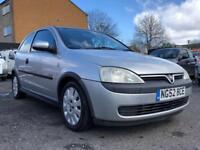 2002 Vauxhall Corsa 1.0 ** ONLY 88000 MILES + 4 MONTHS MOT **